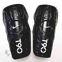 Щитки футбольные Nike T90 детские (черные)