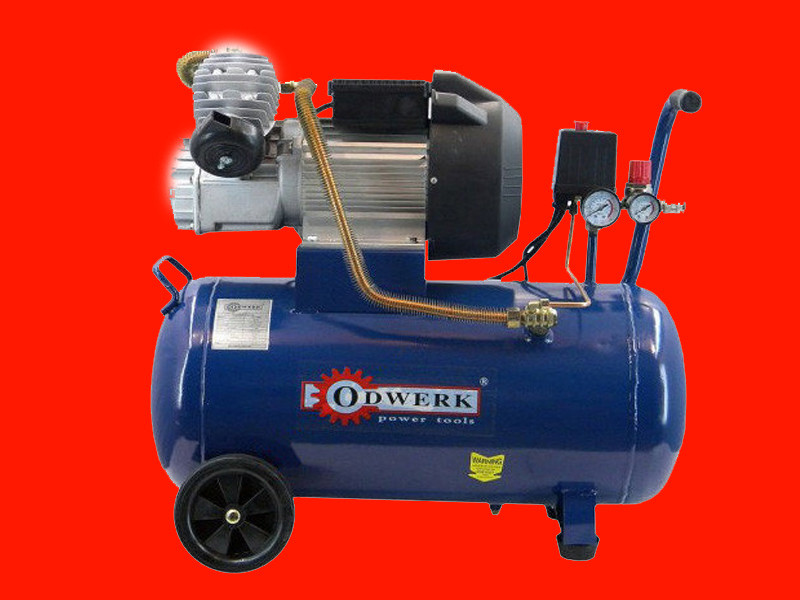 Двухцилиндровый масляный компрессор на 24 литра Odwerk TAV-4050