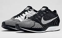 Кроссовки Nike Flyknit Racer Lunar найк реплика