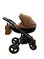 Детская коляска 2 в 1 Broco Infinity Brown