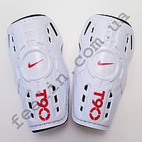 Щитки футбольные Nike T90 детские (белые)
