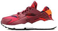 """Nike Air Huarache Run Print """"Deep Garnet & Bright Crimson"""", 36-40"""