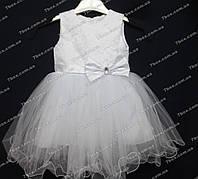 """Детское платье бальное """"мальвинка"""" (белое) Возраст 2-3года, фото 1"""