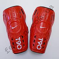 Щитки футбольные Nike T90 детские (красные)