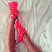 Кроссовки Nike Free Run найк фри ран женские