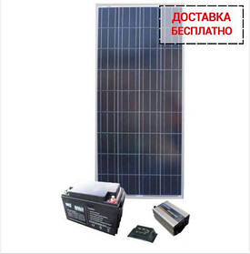 Солнечная электростанция - Дача 22/7кВт*ч в мес.
