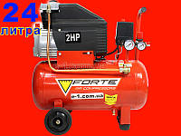 Масляный компрессор на 24 литра Forte FL-24