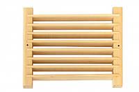 Вентиляционная решетка для бани - ольха
