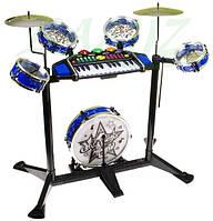 Детская барабанная установка с синтезатором My Super Band НАЛИЧИЕ