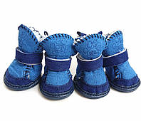 Ботинки для собак -Угги- Синие, фото 1