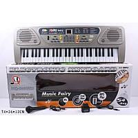 Детский синтезатор MQ 806 USB, 54 клавиши,микрофон, сеть, 2 динамика