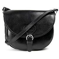 Женская кожаная итальянская сумка TWR-27-1 Black