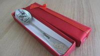 Универсальная сувенирная чайная ложка в подарочной коробке с гравировкой