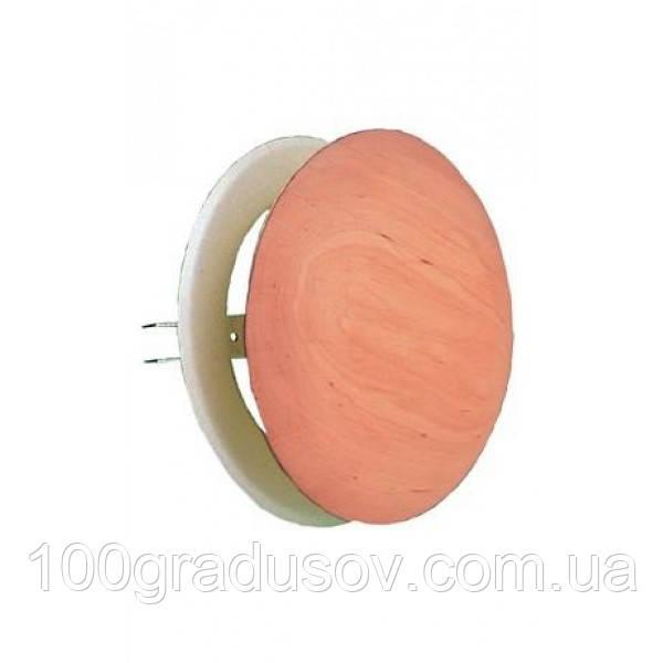 Вентиляционная заглушка для бани  - ольха (Ø-100)