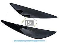 Реснички Kia Cerato c 2006-2008 №2 (Spirit) - Накладки на оптику декоративные На Киа Черато 06-08