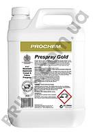Prespray Gold Спрей для предварительной обработки ковров и матерчатой обивки, безопасно для шерсти. 5л.