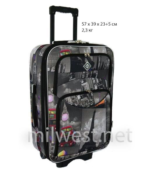 "Малый чемодан ""Города"" аналог RGL 773 фото"