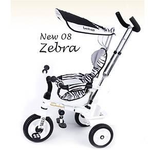 Lexus trike 08 zebra велосипед