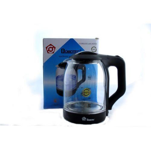 Электрочайник Domotec MS-8120 чайник стекло