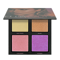 Палетка хайлайтеров HUDA BEAUTY 3D Highlighter Palette - Summer Solstice Edition