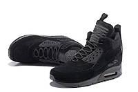 Кроссовки Nike Air Max 90 Sneakerboot Ice Winter зимние реплика
