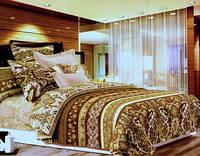 Комплект постельного белья  Танзания.  Двуспальный. Сатин