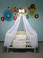 """Постельное белье в кроватку 9 в 1 """"Кися с бантиком"""", """"Bepino"""", фото 1"""