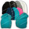 Вязаная шапка для девочки, р. 52-54, подкладка флис, 7033