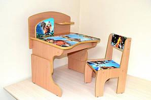 """Парта+стул """"ледниковый период"""""""