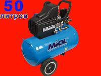 Масляный компрессор на 50 литров Титан Miol 81-170