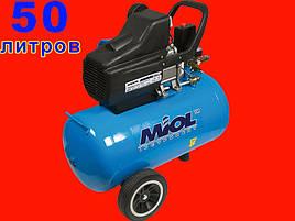 Масляный компрессор на 50 литров Титан 206-50 (Miol 81-170)