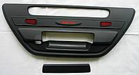 Toyota Hilux Revo 2014 накладка черная на ручку заднего борта большая
