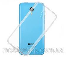 Чехол силиконовый прозрачный для Meizu Metal 2, 0.5mm