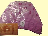 Шапочка для новорожденной, розовая, в мишки