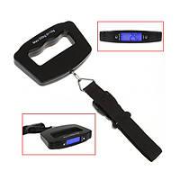 Весы-кантер цифровые VKTECH A09 для багажа (±10g/50kg) с подсветкой