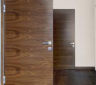 Скрытые двери Шпон натуральный крашенный RAL/NCS глянец 100 GLOSS (полотно щитовое 40 мм без четверти)