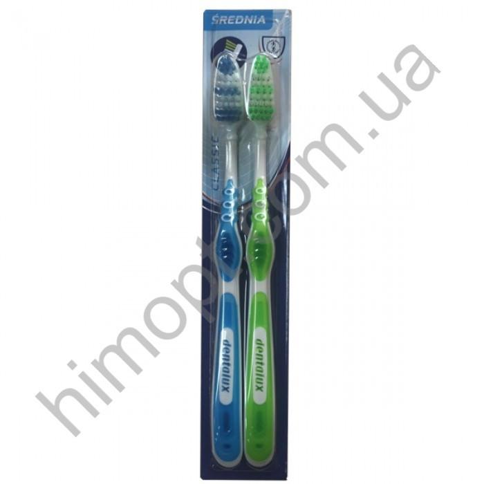 Зубная щетка Dentalux средней жесткости (2 шт)