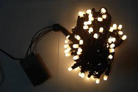 Светодиодная гирлянда Нить 10м, 100 LED, 2,2мм ПВХ