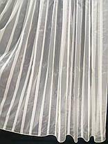 Тюль Домиан Беж (ширина 3м), фото 3