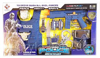 Полицейский набор большой, детский игровой набор