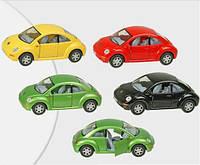 "Машина ""kinsmart"" ""volkswagen new beetle"" kt5028w, металлическая"