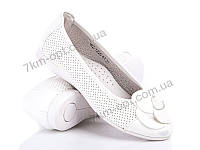 Туфли детские р-р 30-36 код WZ1225-6T white