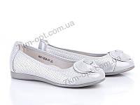 Туфли детские р-р 30-36 код WZ1225-6T grey