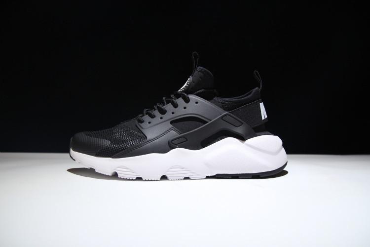 best website 3fe7b aa77c Кроссовки Nike Air Huarache Run Ultra BLACK WHITE-ANTHRACITE 819685-001  реплика