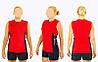Форма волейбольная женская 6503W-R(2XL) (полиэстер, р-р 2XL-165-170см(58-63кг), красный)