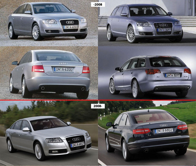 Audi A6 05-11 (C6)