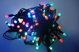 Светодиодная гирлянда Нить 10м, 100 LED, 3,3мм ПВХ