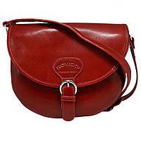 Женская кожаная итальянская сумка TWR-27-1 Red
