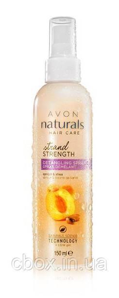 """Бальзам-спрей для волос """"Абсолютная сила. Абрикос и масло ши"""", Avon Naturals, Эйвон, 150 мл, 88215"""