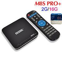 Смарт ТВ приставка (TV Box) Mecool M8S PRO+ S905X (2GB+16GB)
